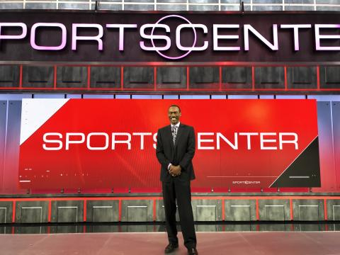 Doug Glanville returning to ESPN's SportsCenter ready to talk baseball in advance of opening day 2019.